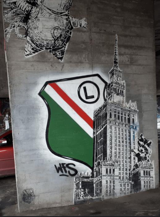 Legia Warsaw Mural