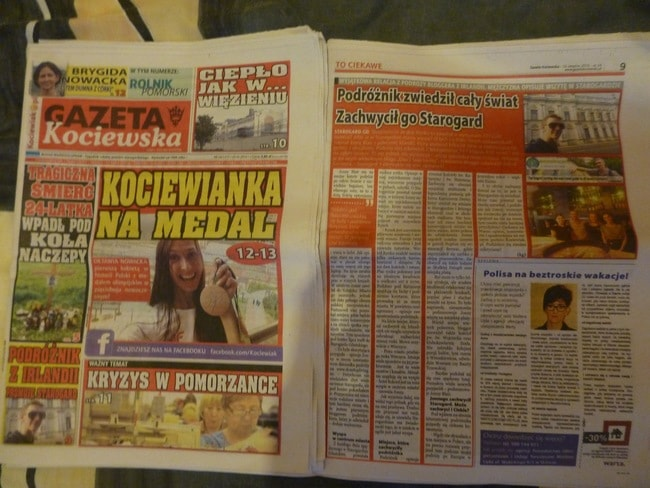 Local Newspaper Starogard