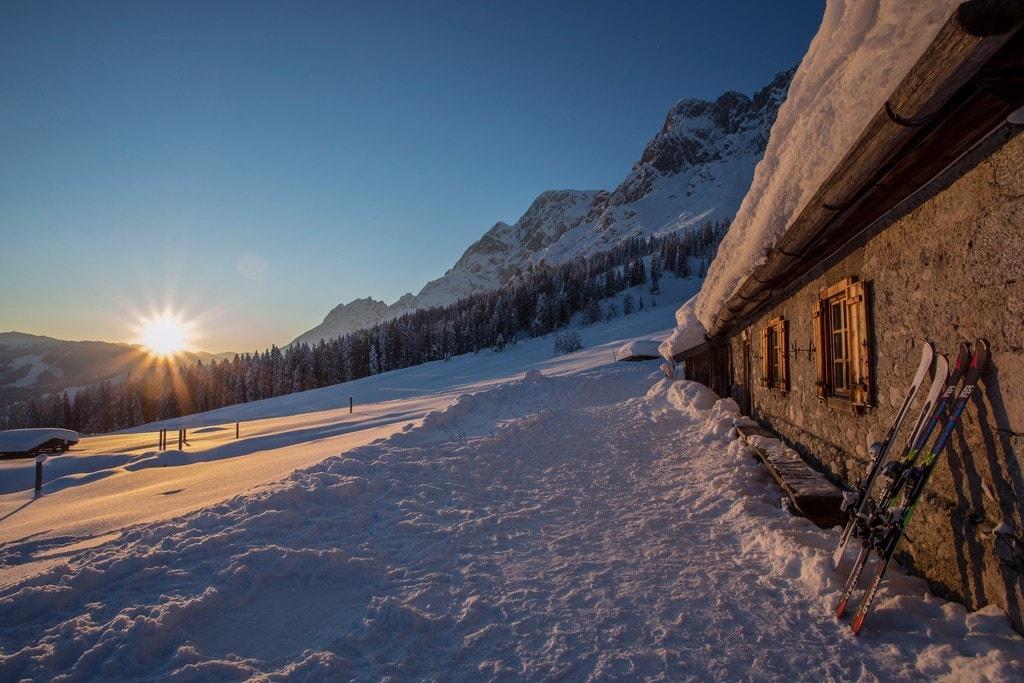 Winterlandschaft - Winter 2013, Schweizerhütte