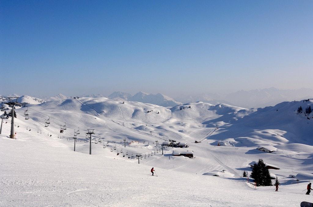 Skifahren in Kitzbühel