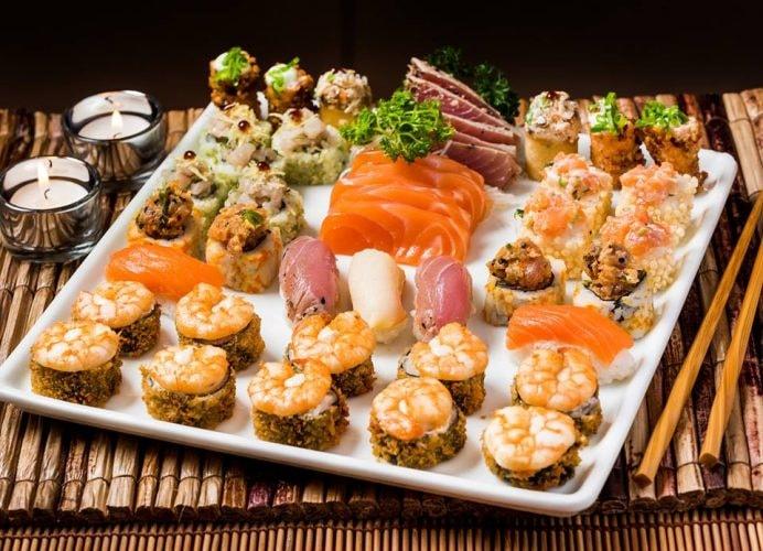 Sushi platter at Restaurante Manekineko | (c) Restaurante Manekineko Ipanema