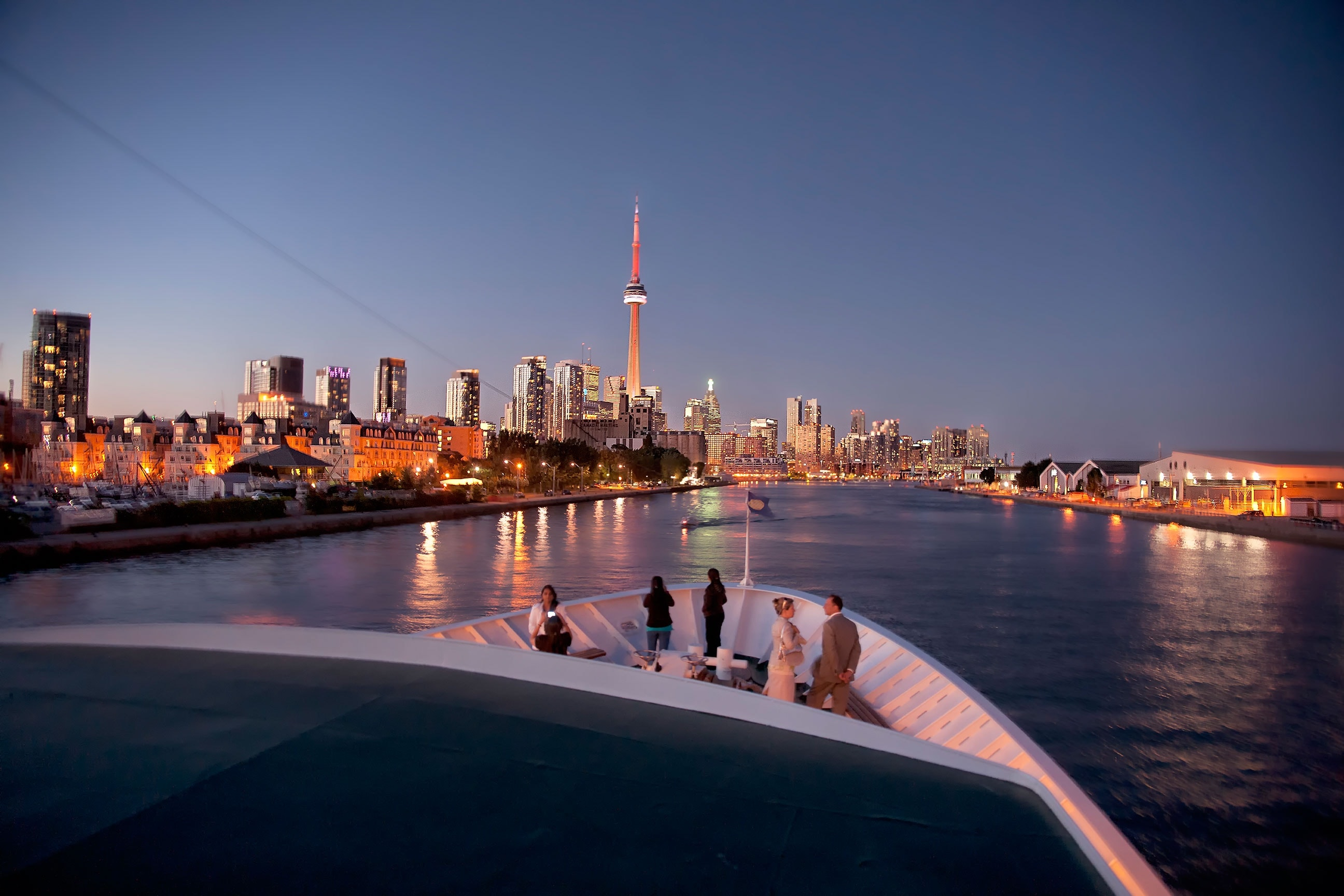 Cruising along Toronto's waterfront | Courtesy of Mariposa Cruises