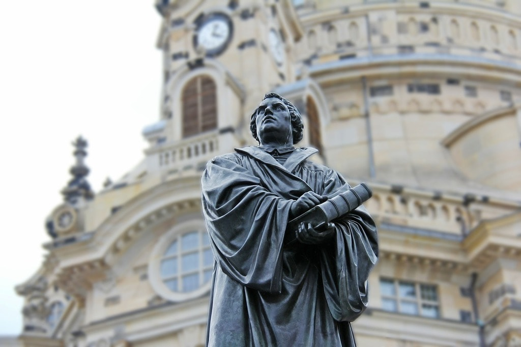 Martin Luther statue, Dresden