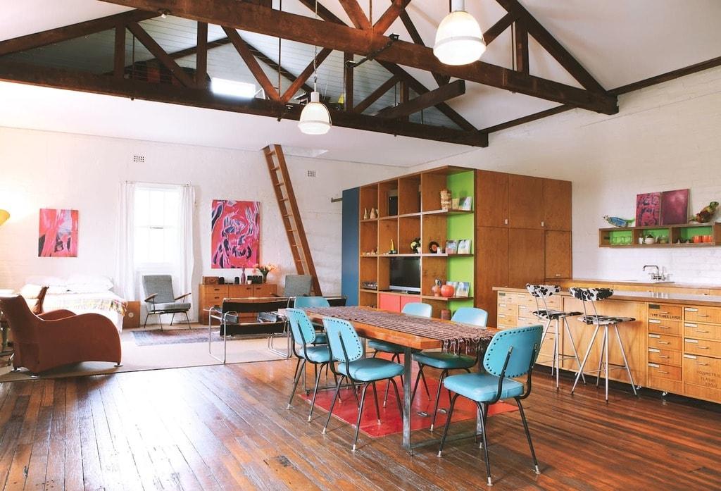 Massive Warehouse Loft Apartment   © Airbnb