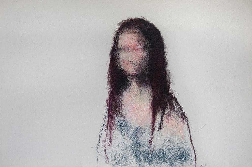 Mathieur Ducournau - Joconde#1 - 100 x 145 cm- 2017