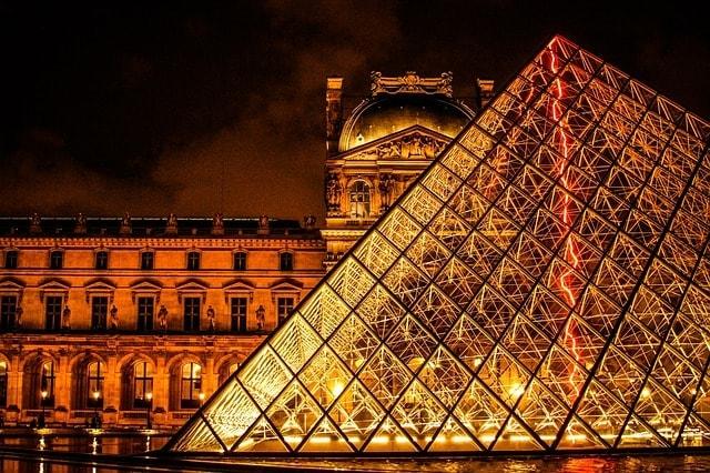 Architecture France Paris Art Gallery The Louvre
