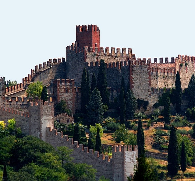 Spain Extremadura Wall Fortified Castle Tower