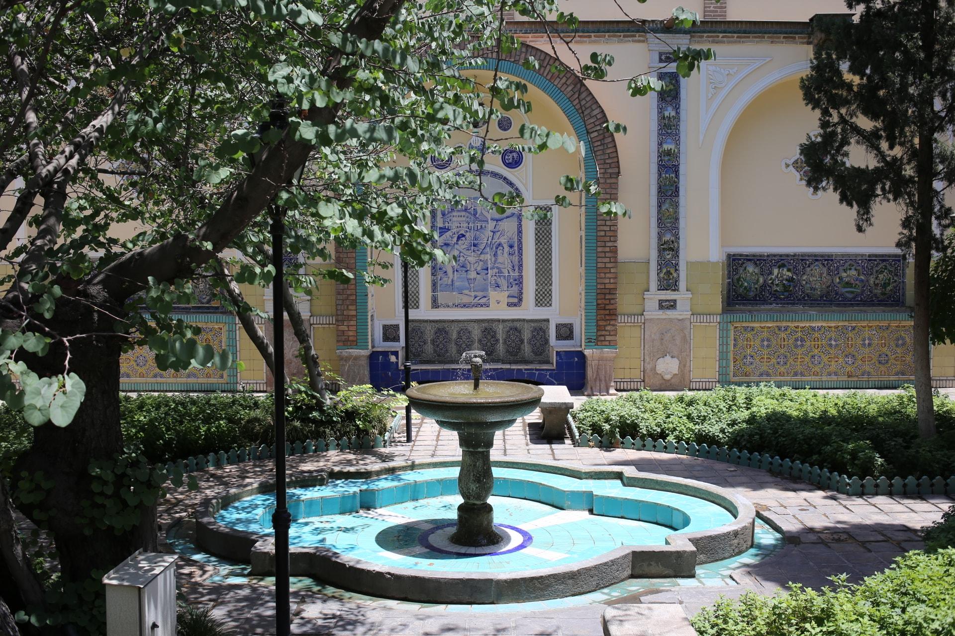 Moghadam Museum has exquisite tiles throughout | © Pontia Fallahi