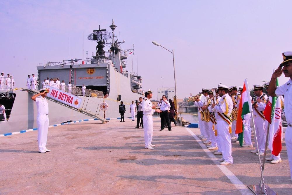 Navy band Indian National Anthem