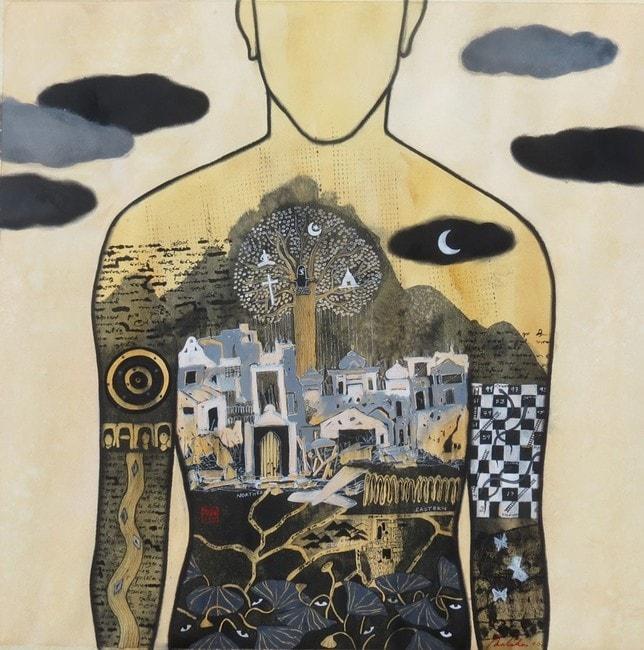 nuwan-nalaka_-2016_inner-view-ii_watercolour-on-paper_-76x76cm