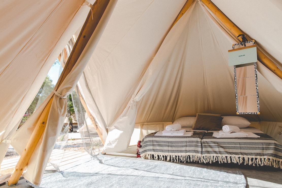 Obonjan Bell Tent interior