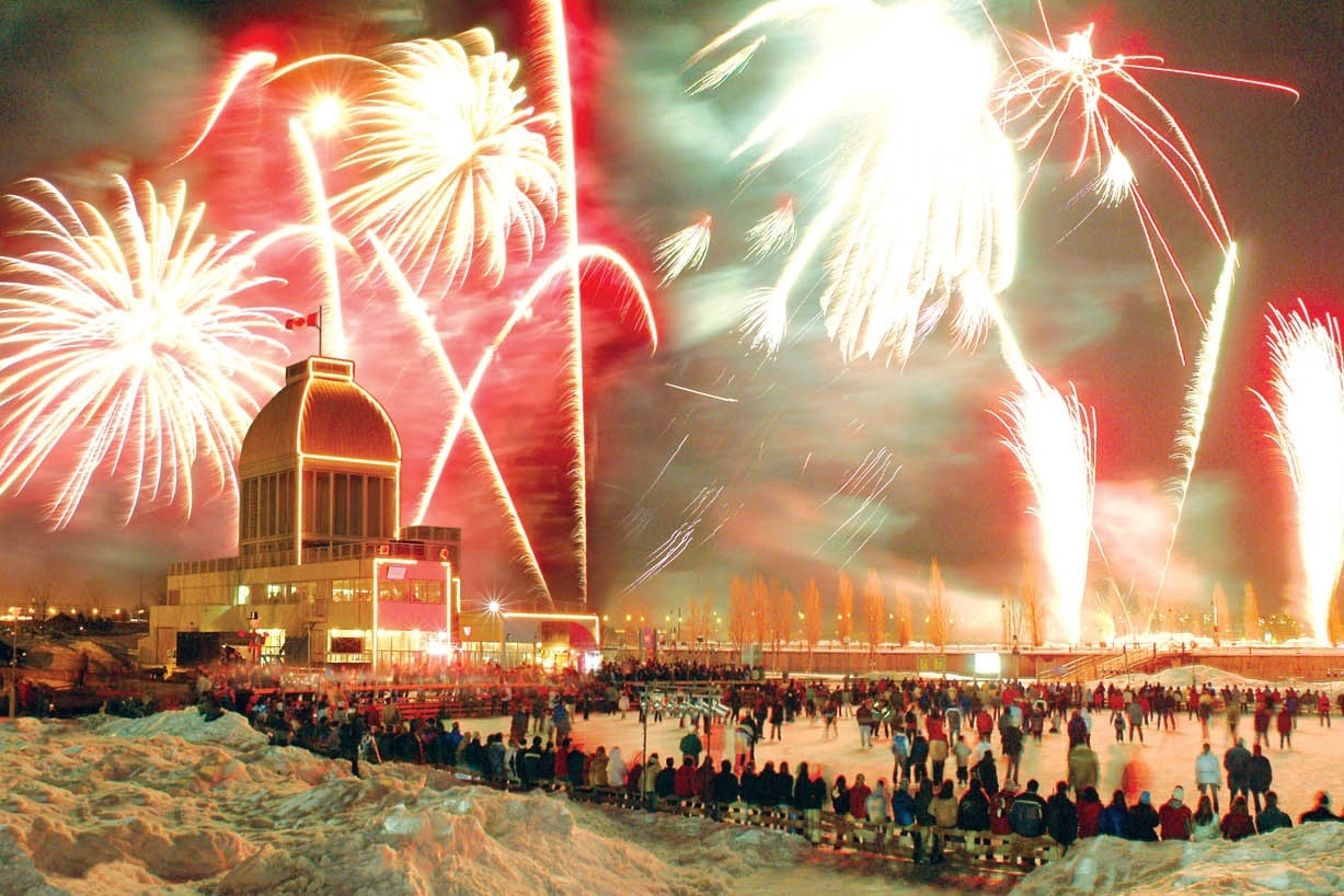 Fire on Ice Festival | © CTC/Quays of the Old Port of Montréal