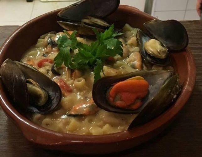 Seafood dish at Ristorante Pasta e Pallone | (c) Ristorante Pasta e Pallone