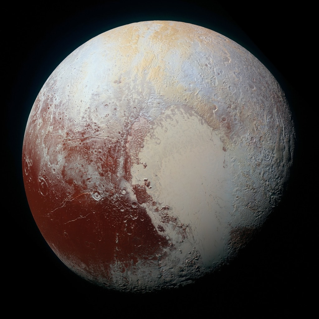 Pluto the dwarf planet
