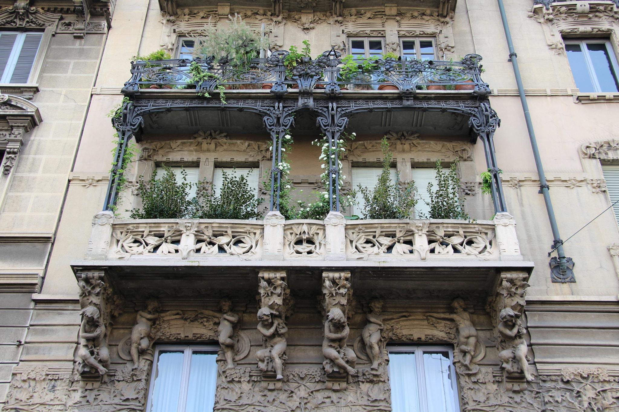 Art Nouveau architecture in Porta Venezia | © Fred Romero/Flickr