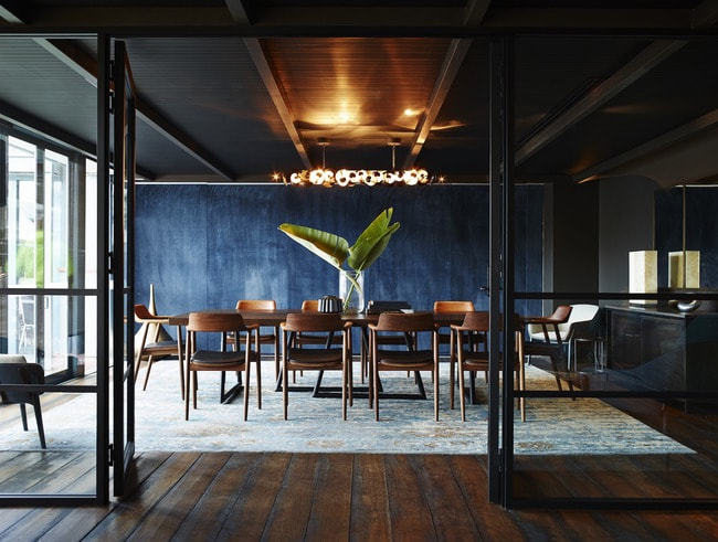 POSH - The Gantry Restaurant Private Dining Area [Image by Jarrad Seng] high res