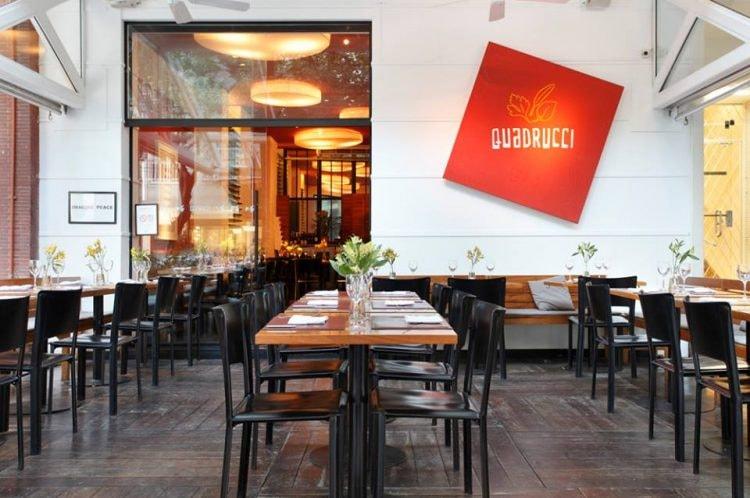 Quadrucci in Leblon is a upscale Italian restaurant | (c) Quadrucci
