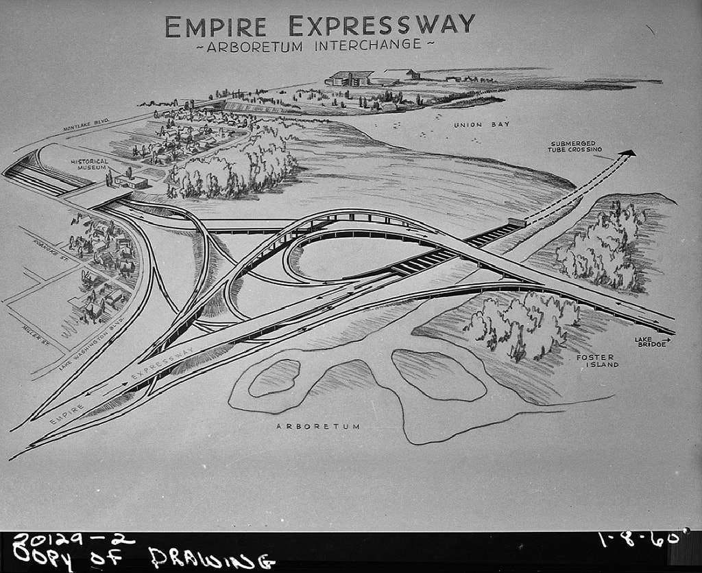 R. H. Thomson Freeway Plans | © Seattle Municipal Archives / Flickr