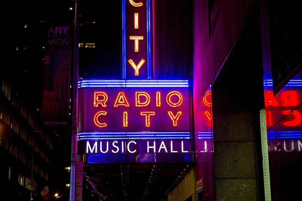 Radio City Music Hall   Pixabay