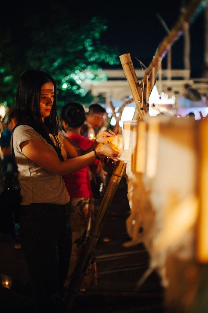 21 Spectacular Photos Of Chiang Mai 39 S Yee Peng Lantern Festival