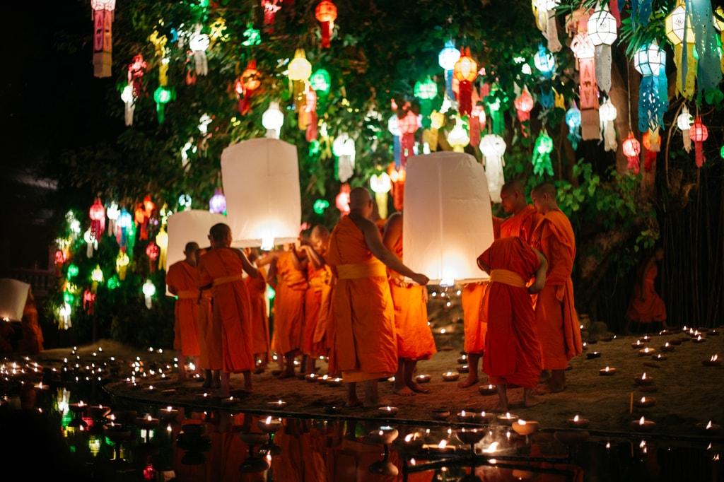 21 Spectacular Photos Of Chiang Mai S Yee Peng Lantern Festival