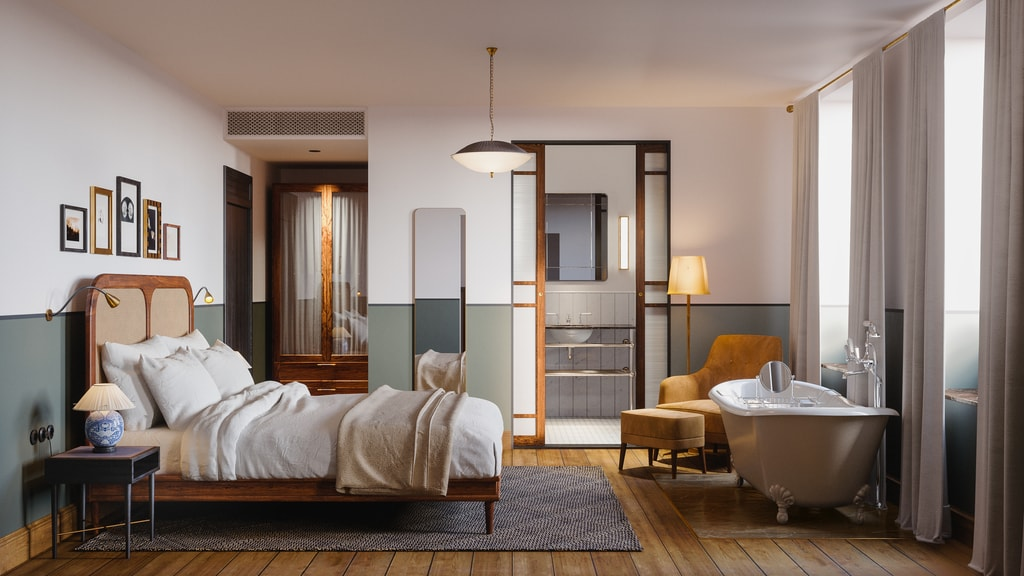 Sanders Bedroom+ | ©Sanders hotel