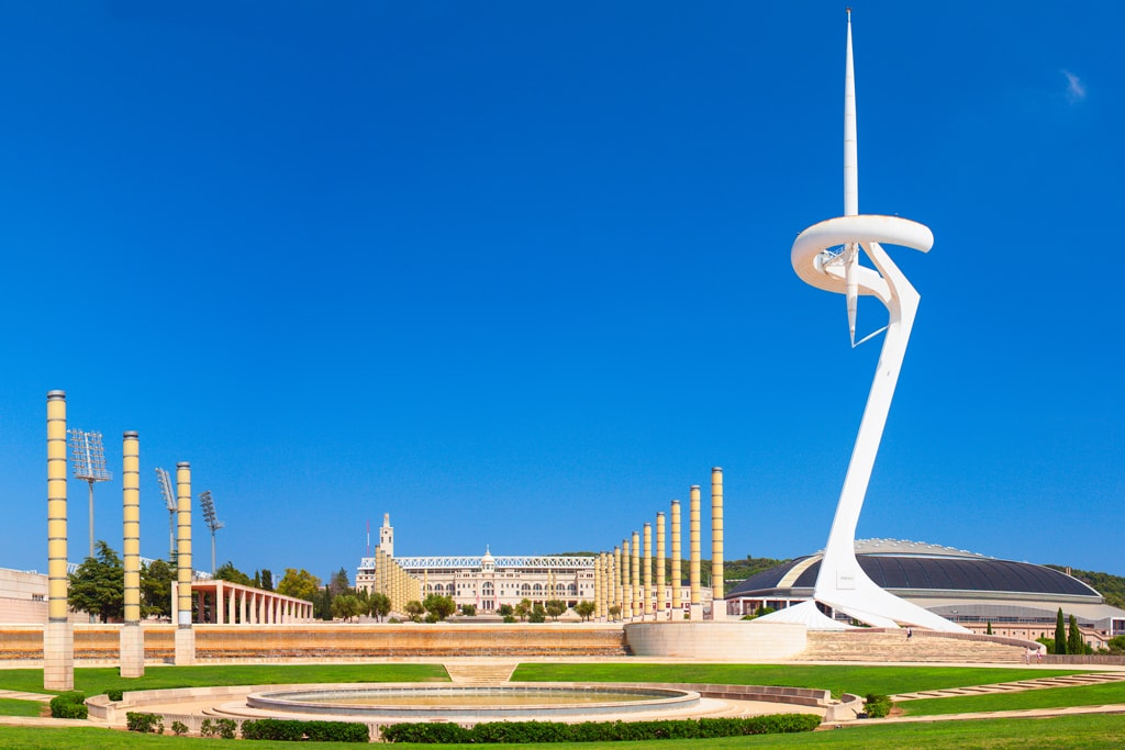 Olympic Flame Communications Tower, Barcelona | © Yevgen Belich/Shutterstock