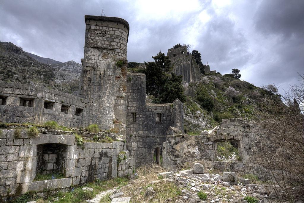 Ruins of Fort San Giovanni, Kotor | © Prioryman/WikiCommons