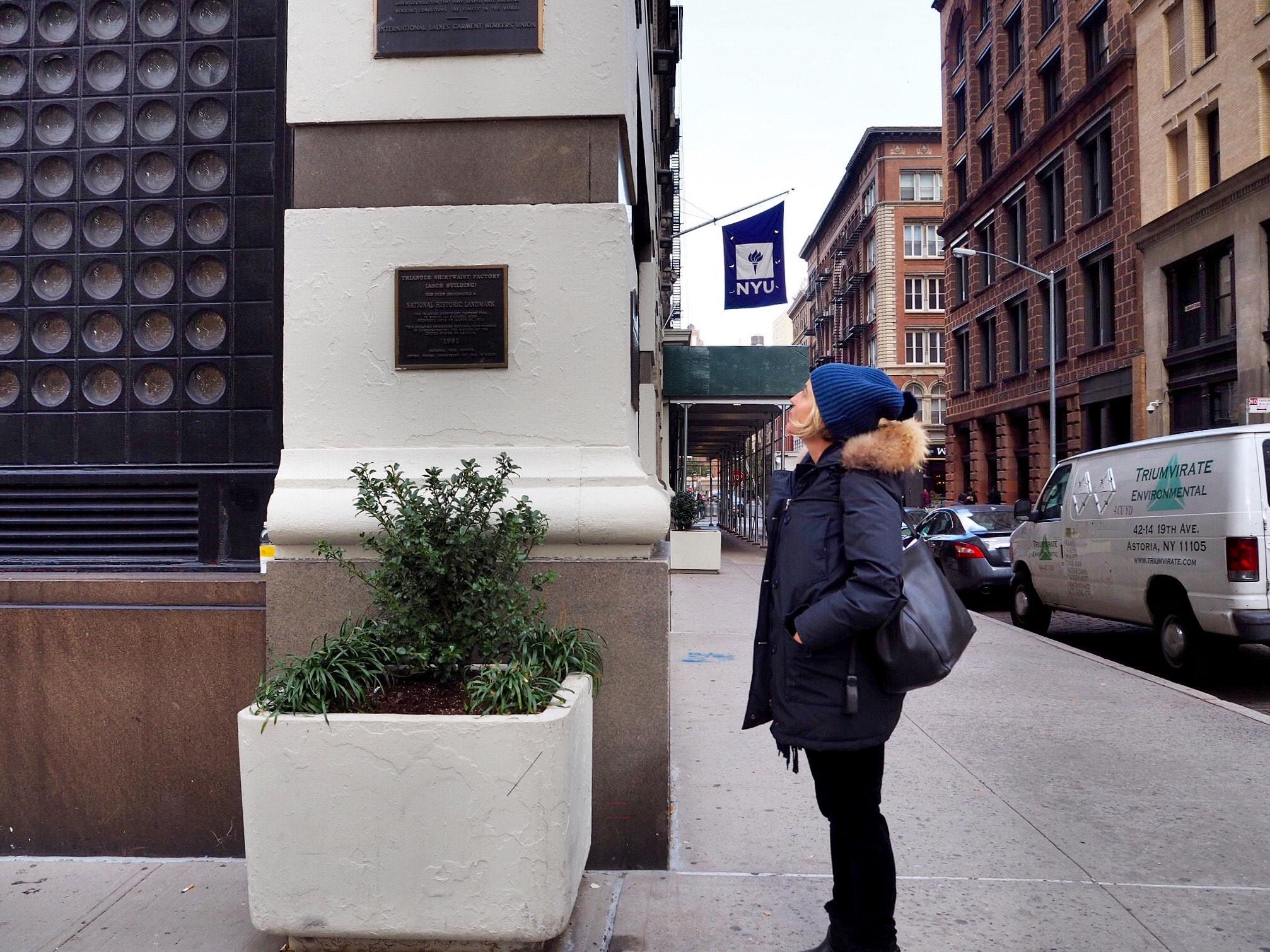 NYU's Brown Building | © Culture Trip / Nikki Vargas