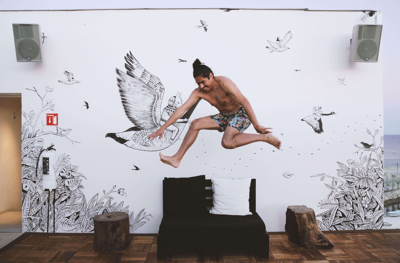 Saner Mural Rooftop | © El Ganzo