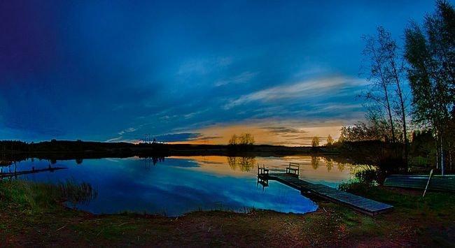 Sasi,_joku_järvi_-_lampi,_ehkä_Lemmakkalanjärvi_^_kuitenkin_ilta-aikaan_näkymä_oli_tämä_-_panoramio