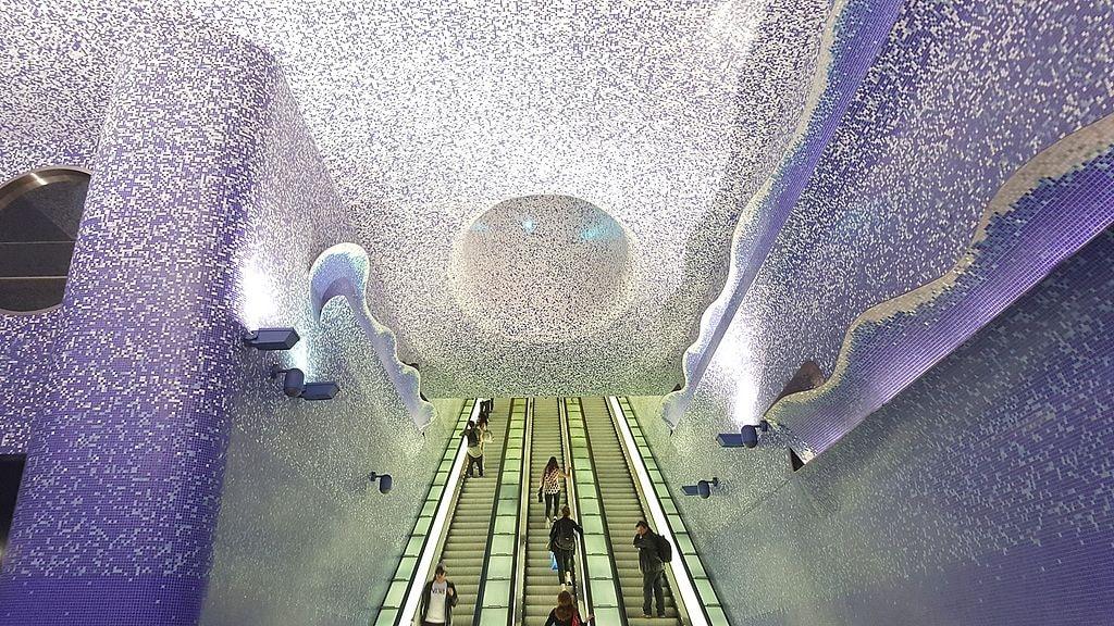 Toledo Metro Station   © Andrea favia/WikiCommons