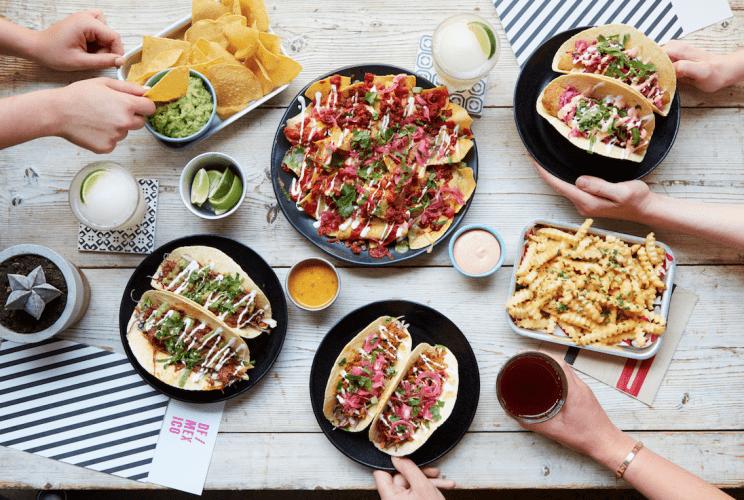 Tacos | Courtesy of DF Mexico