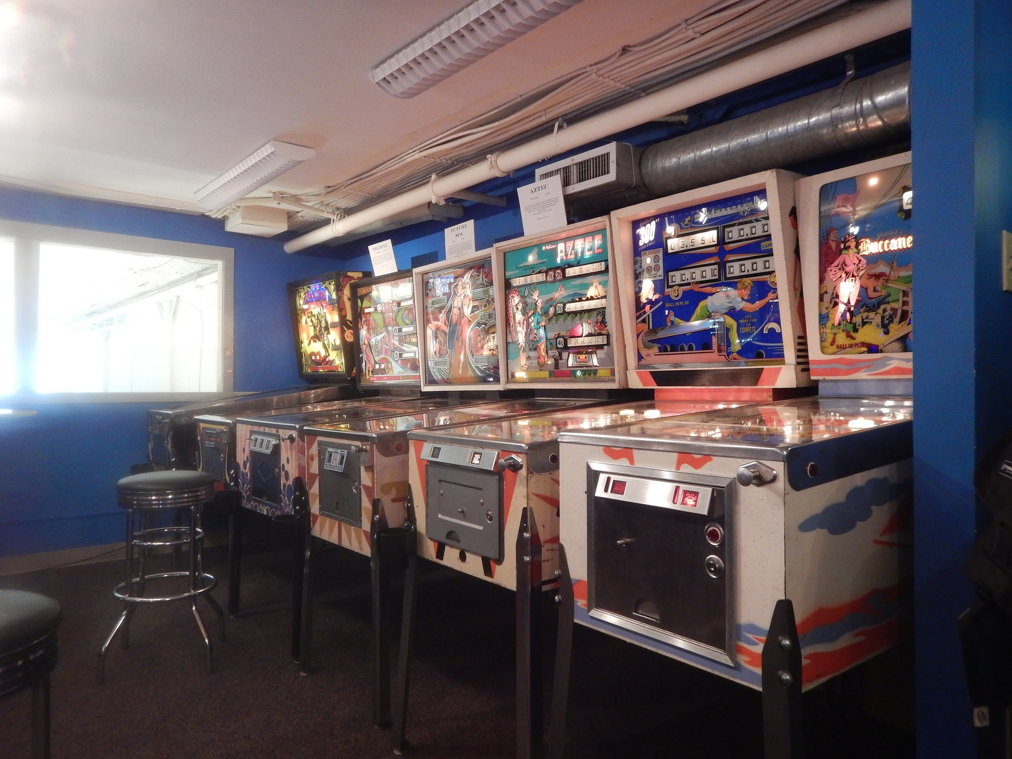 Seattle Pinball Museum | © Blake Handley / Flickr