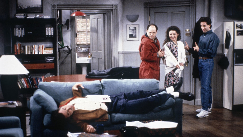 Michael Richards , Jason Alexander, Julia Louis-Dreyfus and Jerry Seinfeld in 'Seinfeld' | © NBC