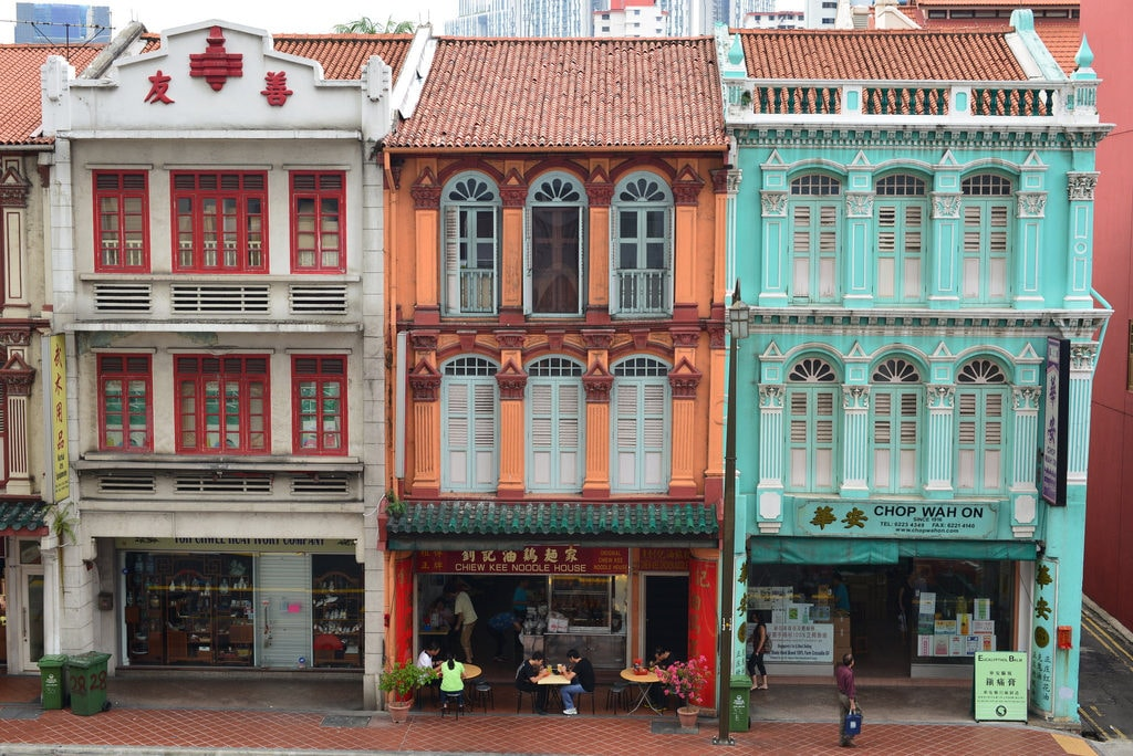 Shophouses in Chinatown © Nicolas Lannuzel/Flickr
