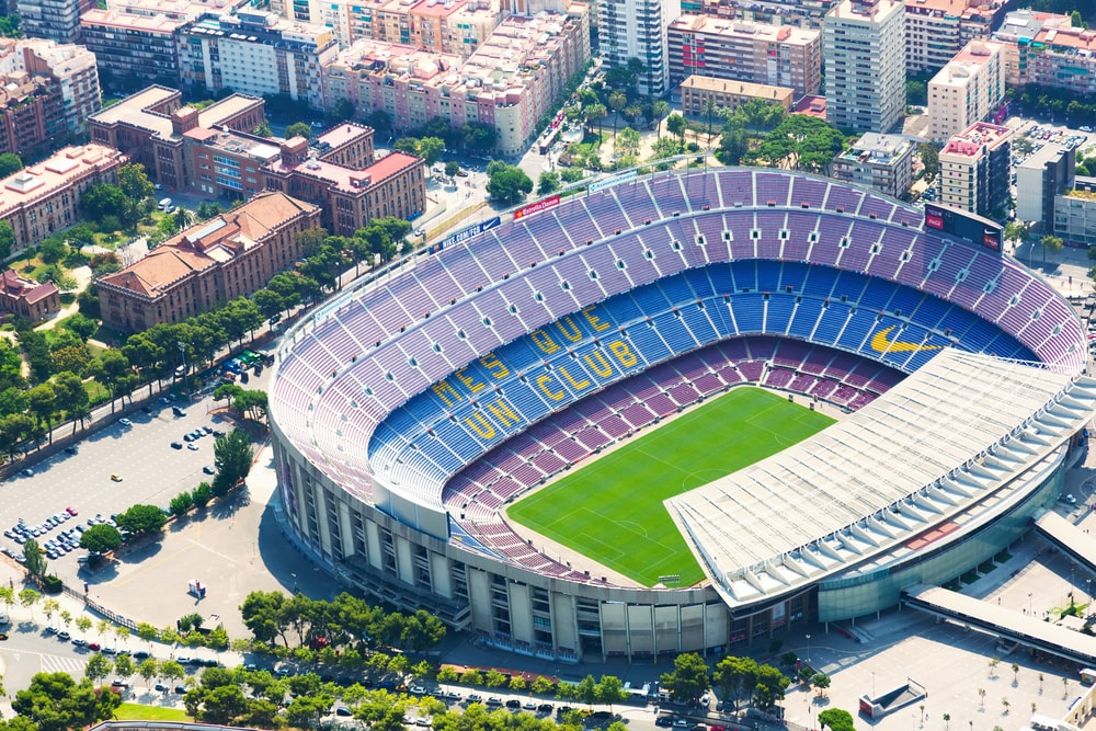 The Camp Nou, home of FC Barcelona | © Iakov Filimonov/Shutterstock