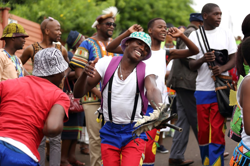 Traditional Zulu dancers perform at a ceremony in Kwa Zulu Natal, South Africa | © Debbie Aird Photography/Shutterstock