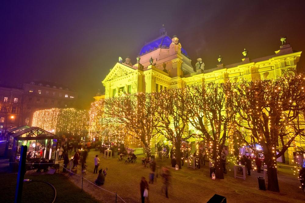 Tomislav trg, Zagreb | © xbrchx/Shutterstock