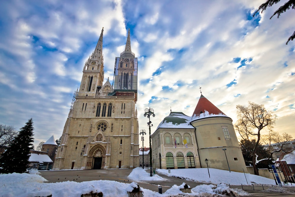 Zagreb Cathedral | © xbrchx/Shutterstock
