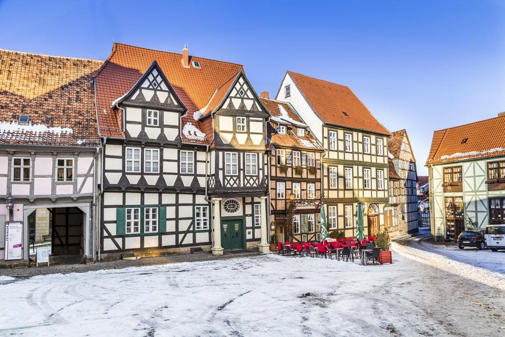 Traditional Quedlinburg houses in winter | © travelview/Shutterstock