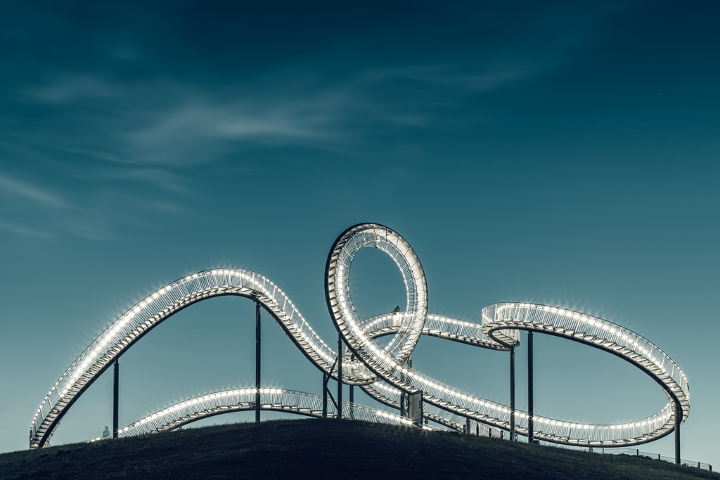 Tiger and Turtle sculpture, Duisburg