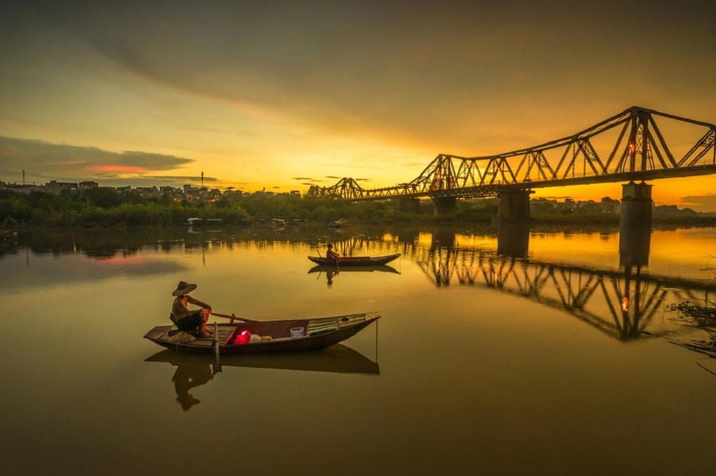 The lovely Long Bien Bridge | © Duong Hong Mai/shutterstock