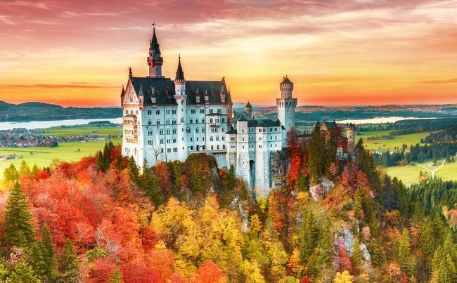 The Most Scenic Driving Routes In Germany