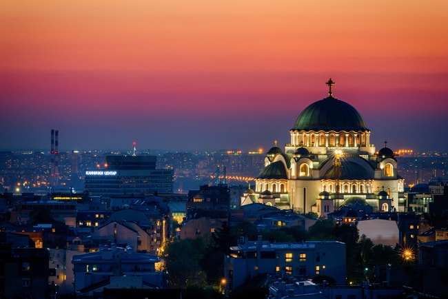 It is difficult to miss Saint Sava Church in Belgrade | © Nenad Dedomacki / shutterstock