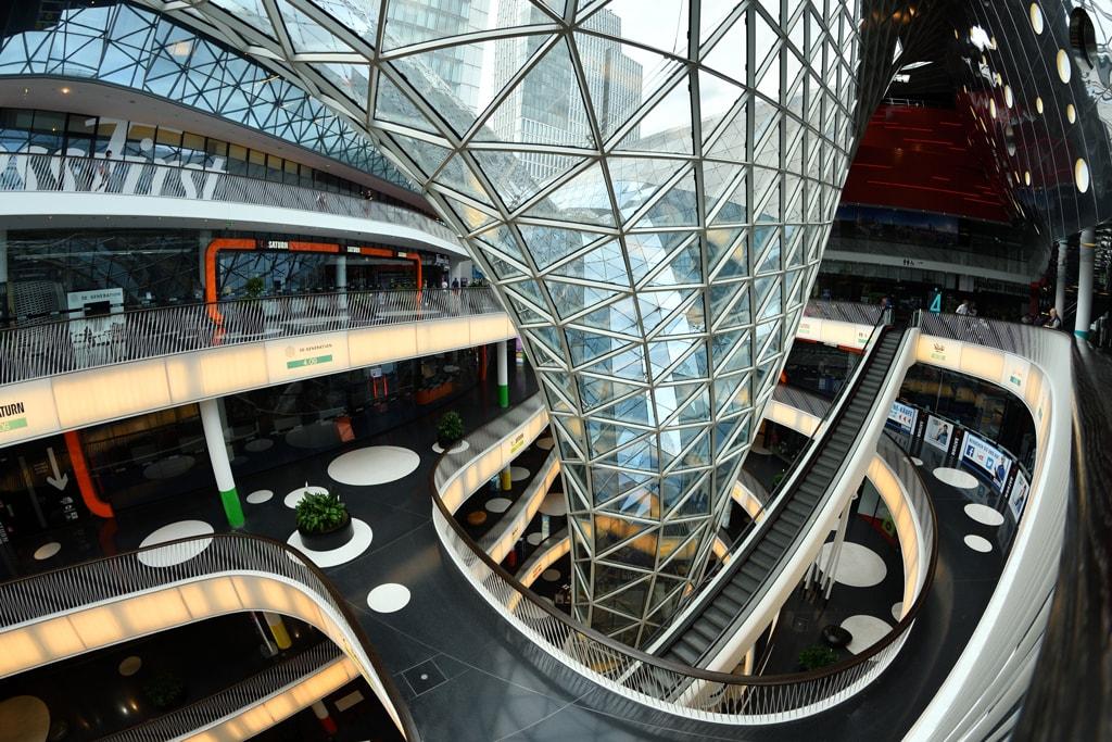 MyZeil shopping centre, Frankfurt