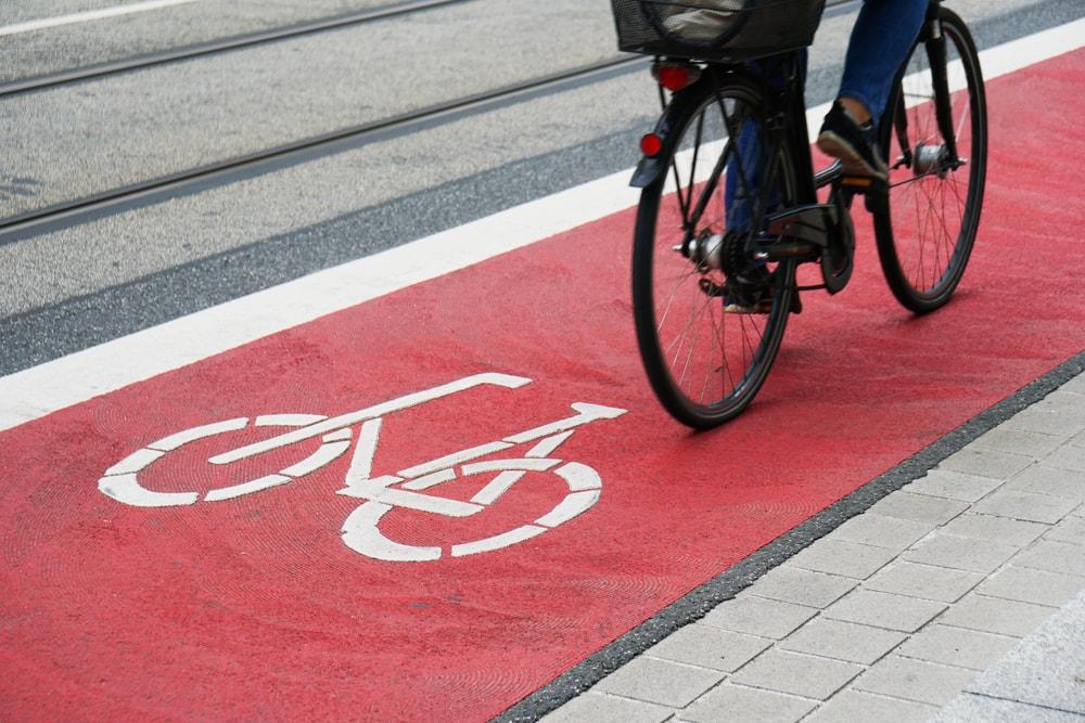Bike lane, Germany