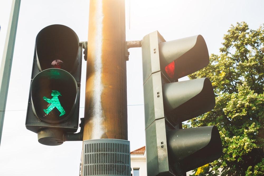 Traffic lights, Berlin