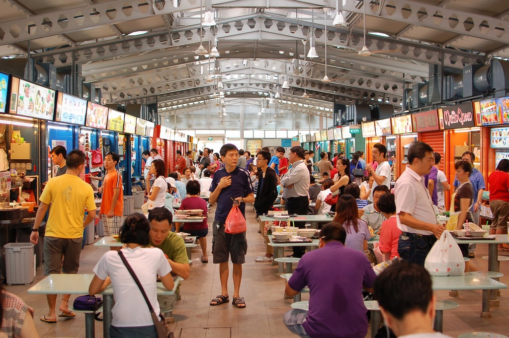 Singapore Alexandra Village Hawker Centre