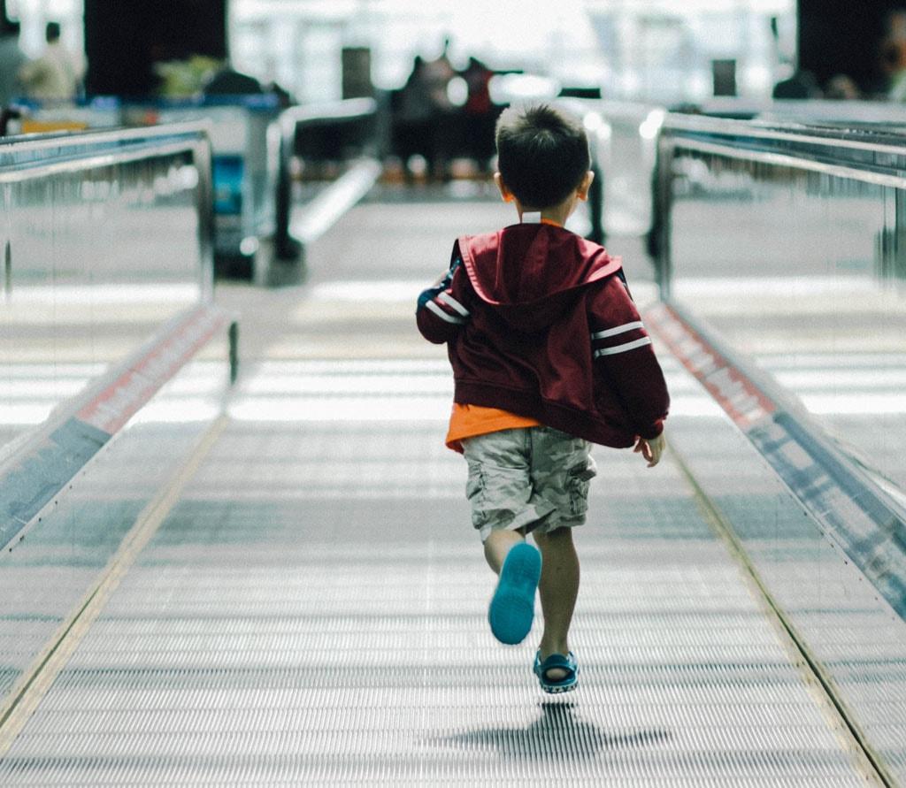 Singapore Changi Airport Boy Jacket Hanson Lu